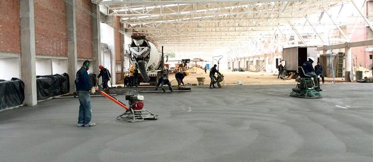 Instalación de Losas de Concreto Lima Peru